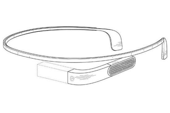 专利文件曝光第二代谷歌眼镜的设计?