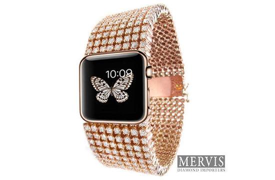 3万美金的Apple Watch钻石表带,有钱人才买得起