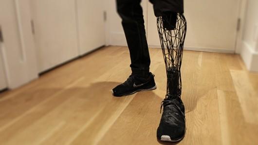 3D打印超酷假肢,人生不再遗憾