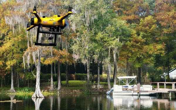 无人机HexH2o,飞天如水