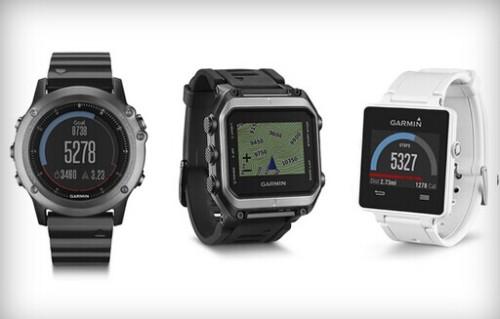 CES2015:Garmin发布三款不同定位的智能手表