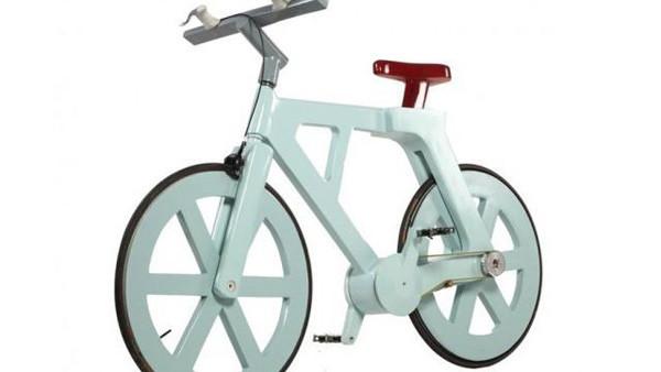 硬纸壳智能自行车,售价10美元