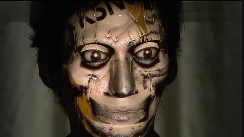 日本面部全息投影,给你千万张脸