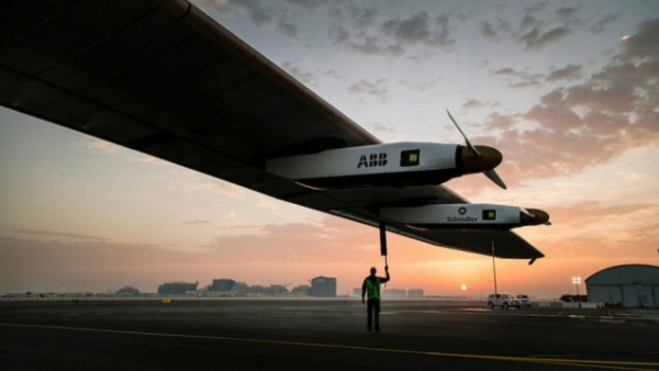 Solar Impulse 2仅用太阳能环游世界