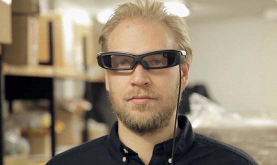 索尼SmartEyeGlass智能眼镜官方演示视频