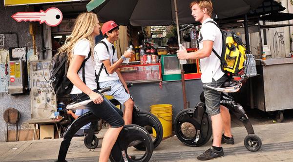 YikeBike折叠电动自行车:试驾秀