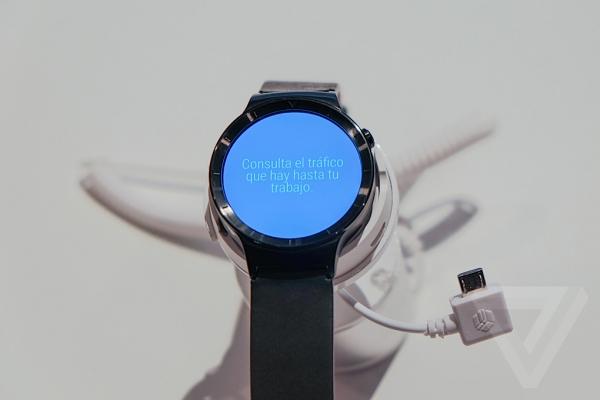 华为发布智能手表手表:Huawei Watch