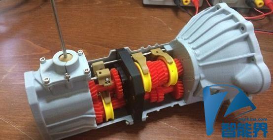 销魂:3D打印出丰田5档变速引擎