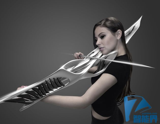 Piezoelectric Violin--3D打印出未来感的小提琴