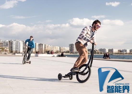站着骑的自行车发布二代产品了 约2000元