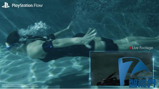 索尼PS Flow概念体感能让你在水下玩游戏