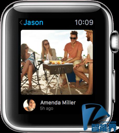未来Apple Watch或可以进行实时视频交流