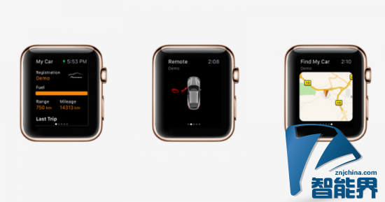 保时捷支持苹果智能手表