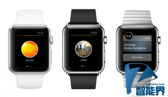飞利浦让Apple Watch控制Hue智能灯泡