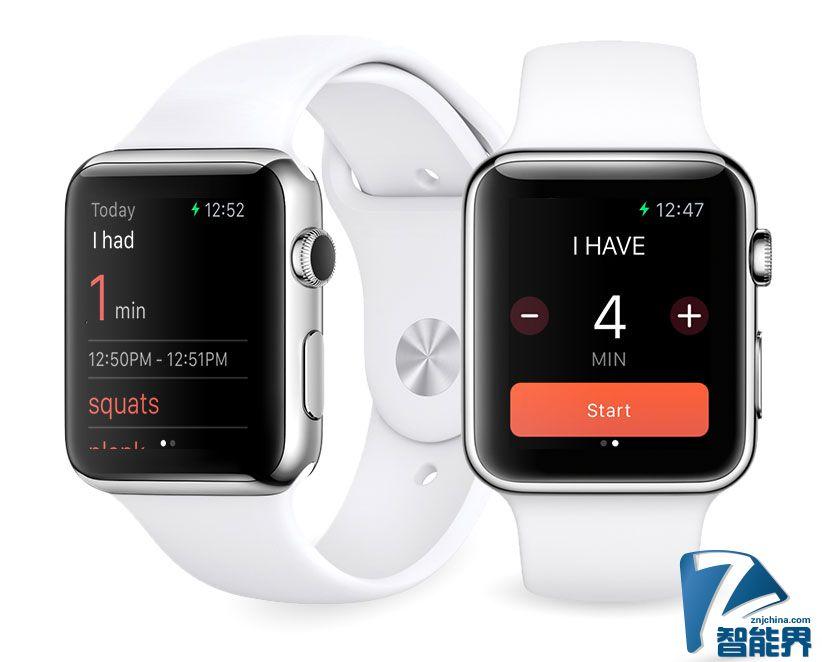 Misfit Minute:为Apple Watch打造的专属应用