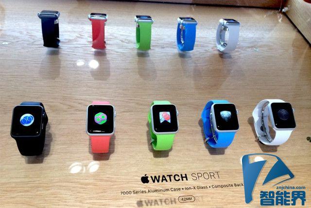 Apple Watch第二批上市国家5月8日公布