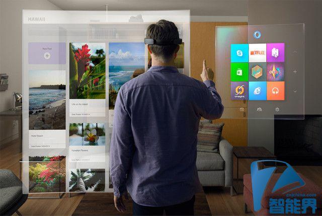 黑科技不便宜 微软HoloLens远超400美元