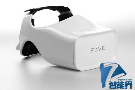 支持红外眼动追踪的虚拟现实头戴式装置正在众筹