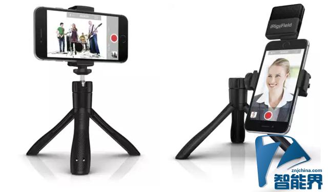 iKlipGrip智能手机支架问世 支持蓝牙快门控制
