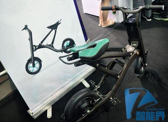 可折叠智能电动单车 - Yunbike X1