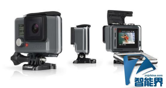 GoPro发布中端机型Hero+ LCD 内置触控屏