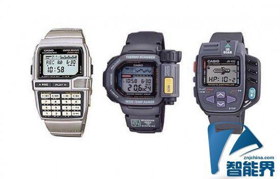 卡西欧经典手表展:30年前的智能手表长这样