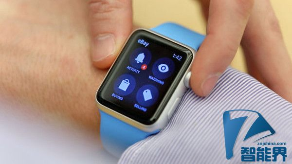 ebay在Apple Watch上发布拍卖应用