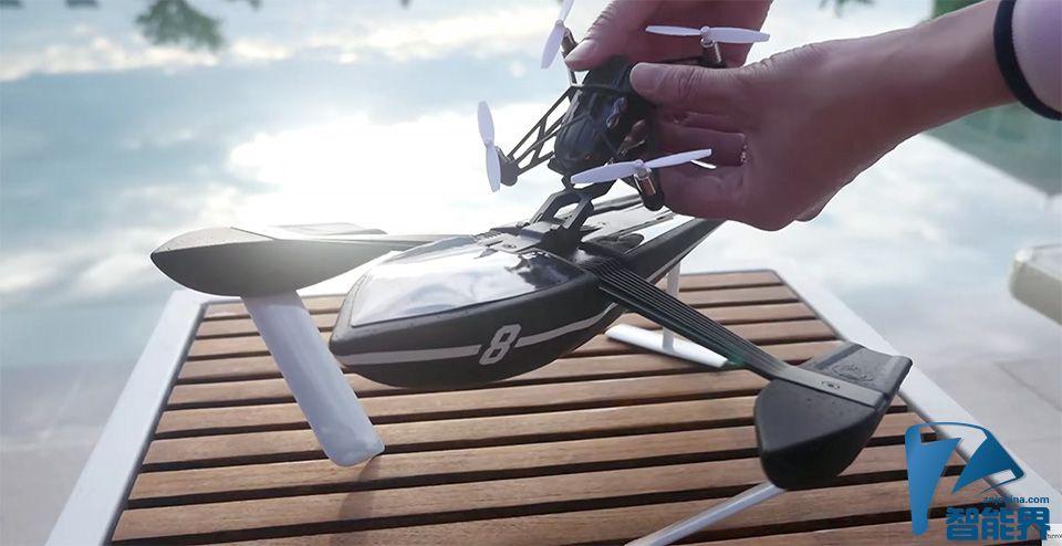 Parrot 猛推 13 款新品,无人机加跳跳机器人通吃海陆空