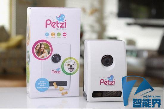 Petzi:可以弹出零食的宠物摄像头