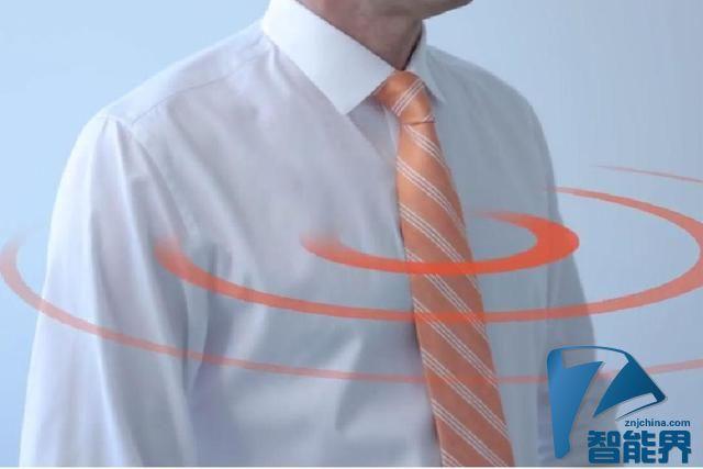 将领带变成无线热点 TieFi最好的父亲节礼物