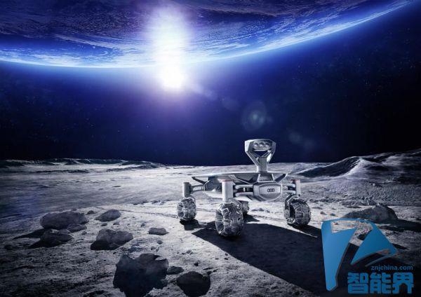 奥迪这次要把车开到月球去