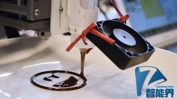 不仅能吃 3D打印的巧克力还能促进锻炼