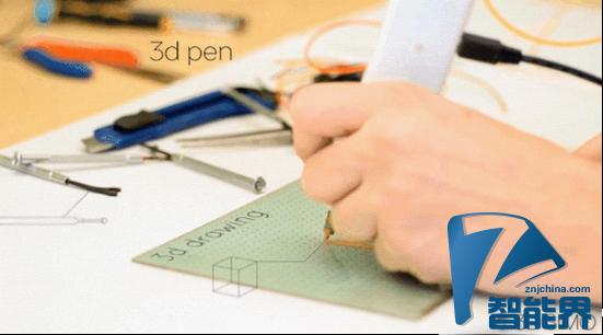 3D打印的另一个方向:3D打印笔