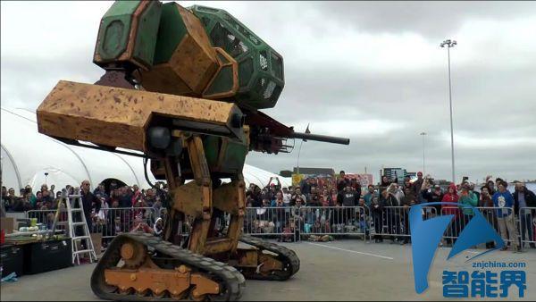现实版超级机器人大战 美日机器人撕逼