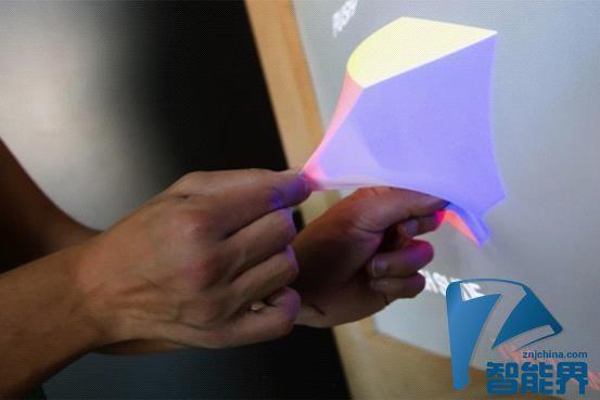 全新显示技术让我们与屏幕进行3D立体互动
