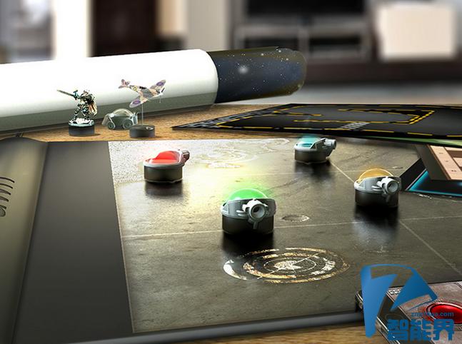 这款桌游垫 把虚拟带进现实
