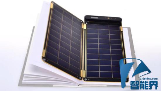 Solar Paper:像纸一样薄的太阳能充电器