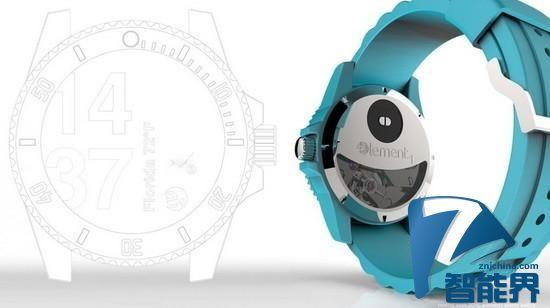 不需要充电的智能手表 能将动力转化为电能