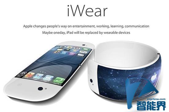 iWear:将iPad缩小戴到手上