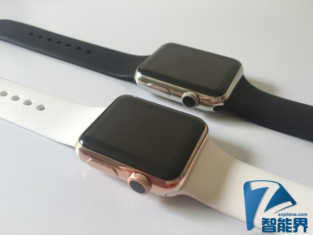 匹配金色iPhone 苹果或发金色运动款iWatch