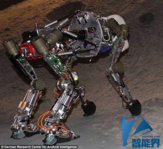 德研制猿猴机器人将对月球进行勘测探索