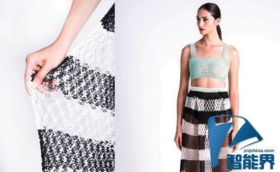 新材质让普通3D打印机制作的服装不再硬梆梆