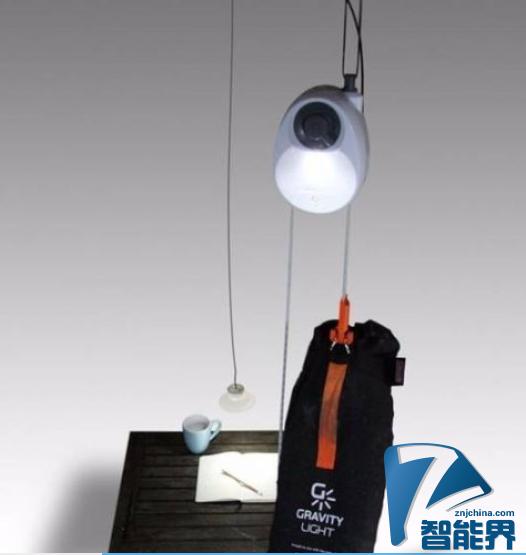 重力电灯为贫困人群带来福音