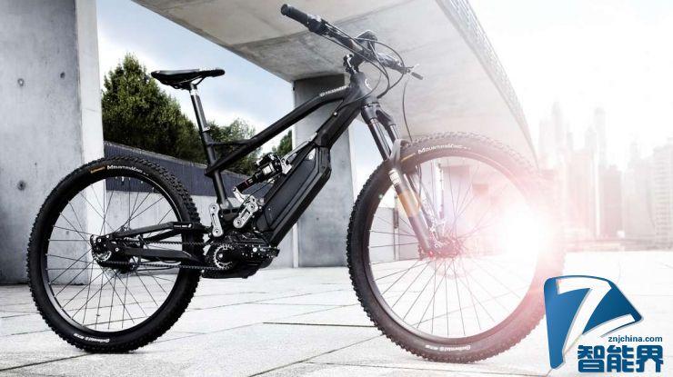 宝马i技术催生高端电动山地自行车