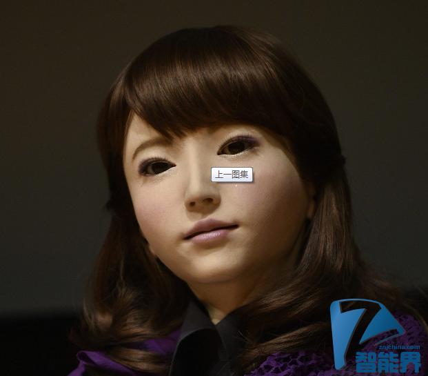 """日本大学科研团队研发可与人对话""""美女机器人"""""""