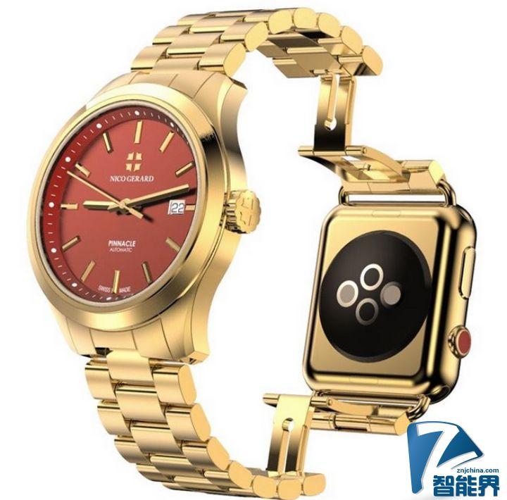 不明觉厉!Apple Watch与瑞士手表合体?