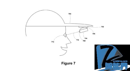 谷歌申请帽子版谷歌眼镜专利