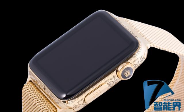俄罗斯珠宝商推出限量Apple Watch纪念领袖