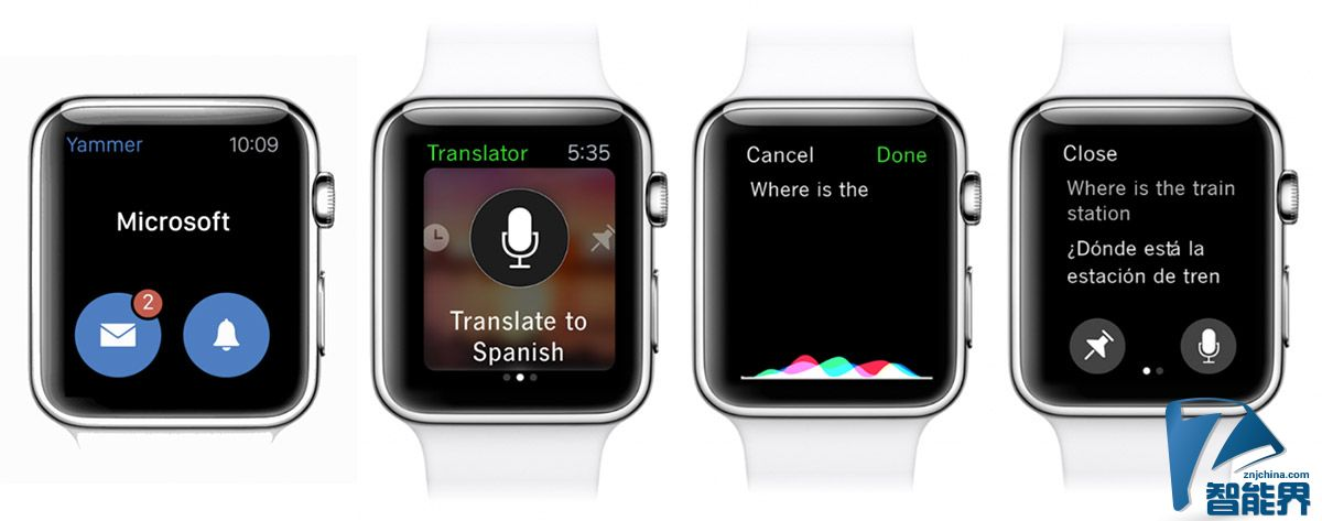 微软要用各式生产力应用攻占你的 Apple Watch 与 Android Wear(手很忙)