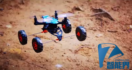 Tomy推出海陆空三栖遥控飞机RC Quadrotor